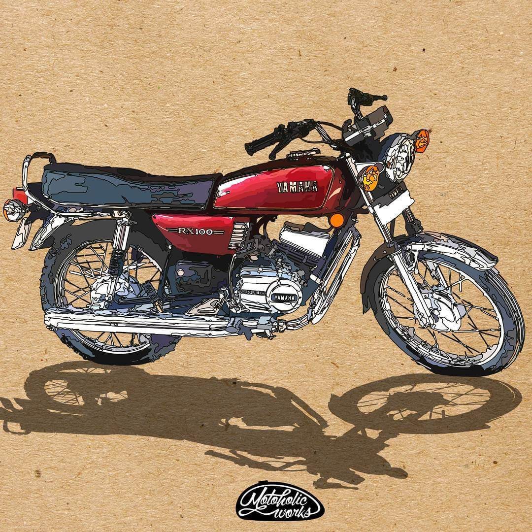 The funniest rumors and facts we've heard about Yamaha RX 100.