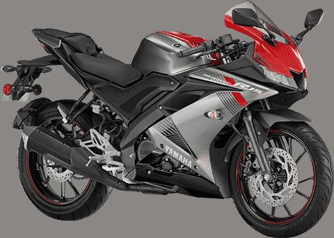 Yamaha r15 v3 thunder grey