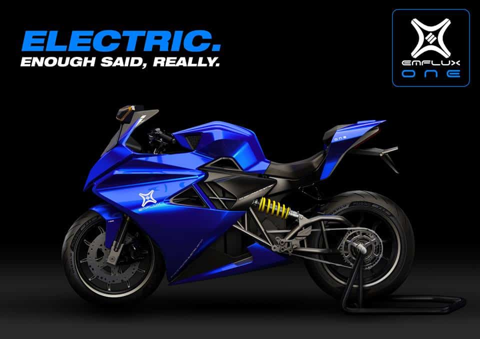 Emflux One. Features and details-1st Electric superbike made in India.