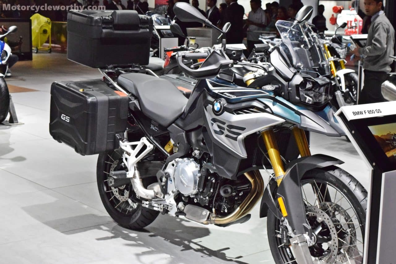 bmw f 750 gs and f 850 gs added to the adventure family in. Black Bedroom Furniture Sets. Home Design Ideas