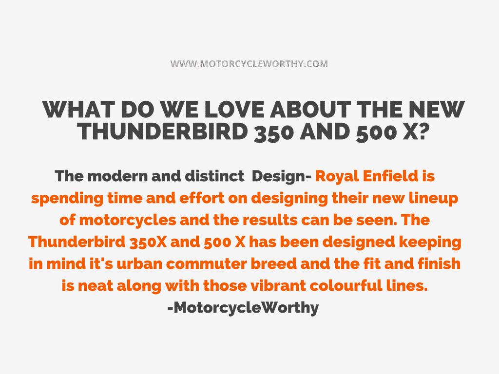 Royal Enfield Thunderbird X review