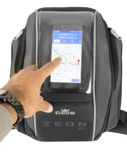 Gods Zeon R1 Tank Bag mobile phone pocket