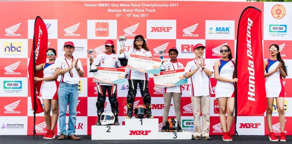 Kalyani Potekar, Female bike riders in India