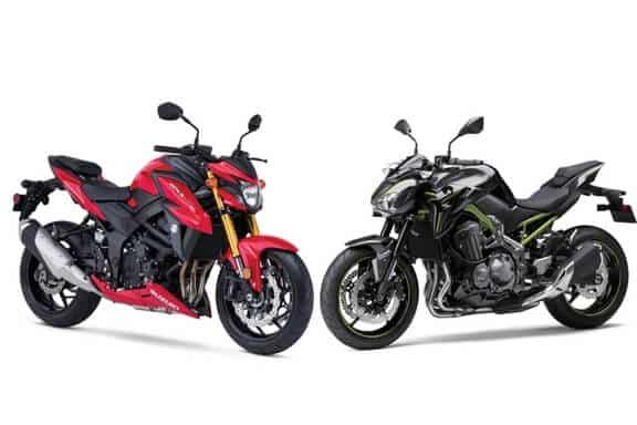Suzuki GSX-S750 vs Kawasaki Z900