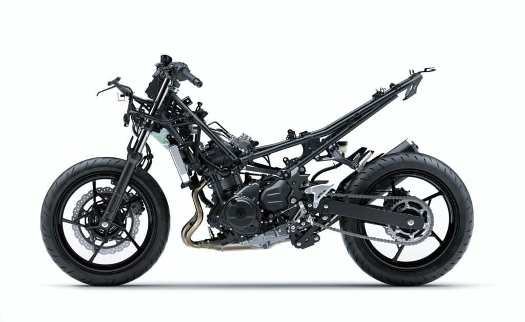kawasaki ninja 400 steel frame
