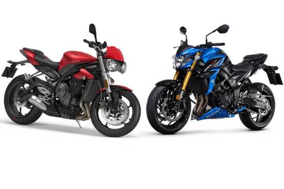 Suzuki GSX-S750 vs Street Triple