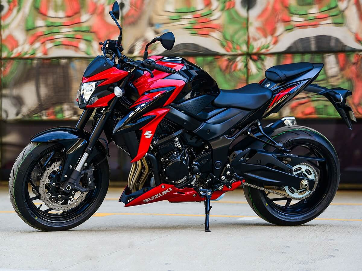 Suzuki GSX-S750 now available in India.