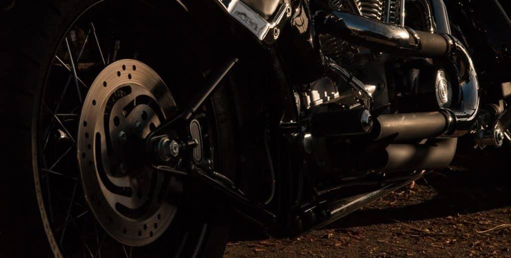 Motorcycle Rear disk brakes