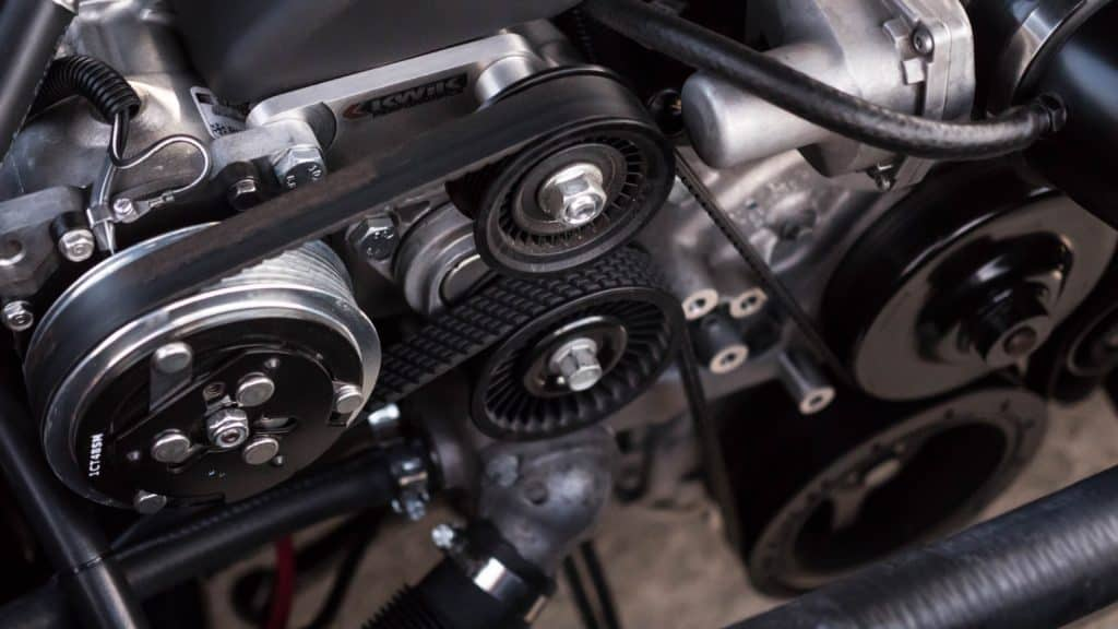 motor engine gears and screws